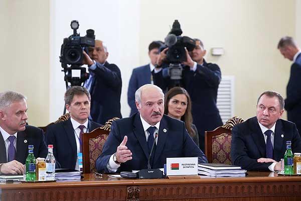 Тема недели: председательство в ОДКБ перешло Беларуси