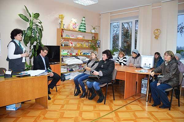 Работники Беларусбанка провели в Толочине очередное занятие по финансовой грамотности