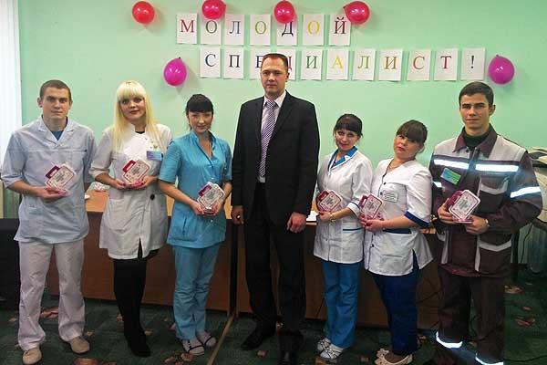Пополнили семью медиков Толочинского района