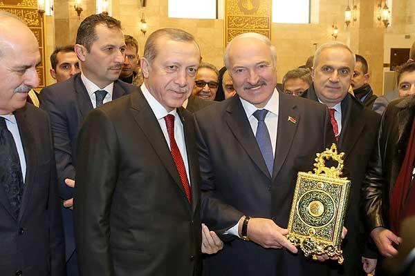Тема недели: визит Президента Турции в Беларусь