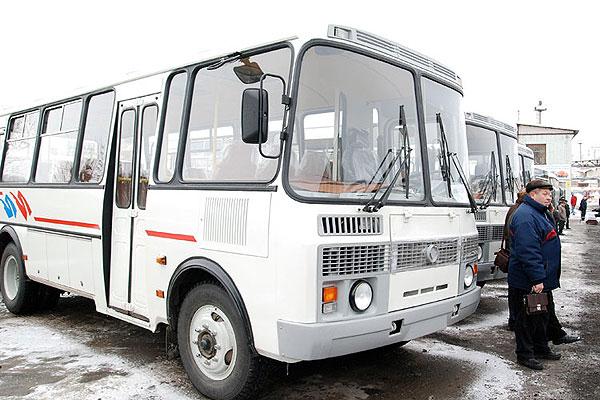 1 января автобусы в Толочине начнут движение с 12 часов