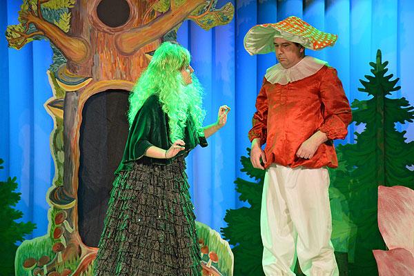 Новогоднее путешествие в сказку подарили детям организаторы благотворительной елки в Толочине