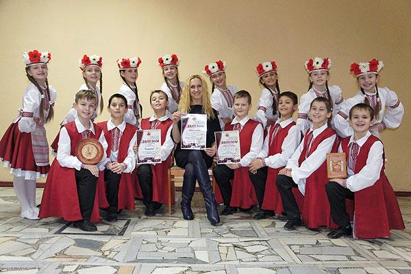 Юные кохановские танцоры победили на престижном конкурсе в Городке