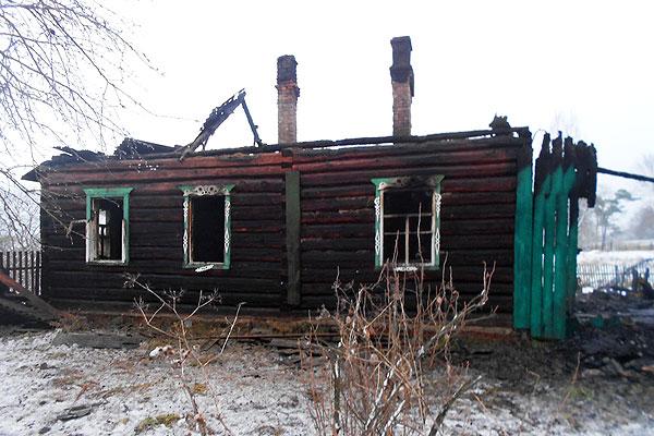 Два пожара произошло на территории Толочинского района в конце минувшей недели