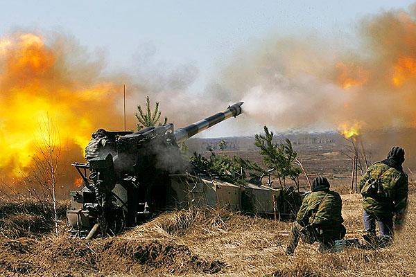 Толочинские артиллеристы из числа военнообязанных запаса принимают участие в проверке боевой готовности Вооруженных Сил Беларуси