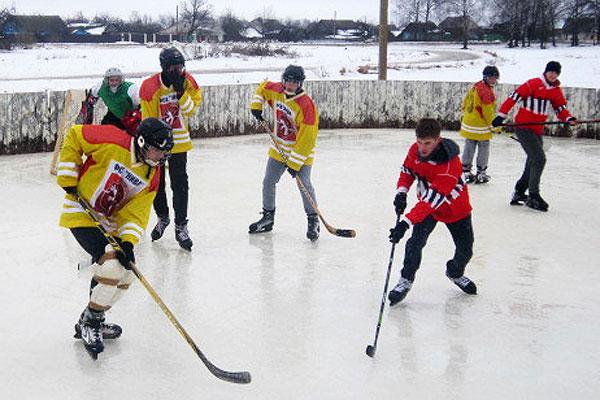 Юные кохановские хоккеисты победили своих толочинских сверстников в районном этапе «Золотой шайбы»