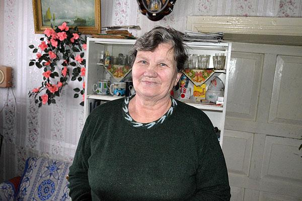 Старейшина деревень Крыницы и Новинка Раиса Мацыль пользуется у жителей непререкаемым авторитетом