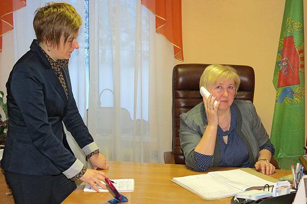 Председатель Оболецкого сельисполкома Вера Михолап предпочитает быть в курсе любого вопроса на территории сельского Совета