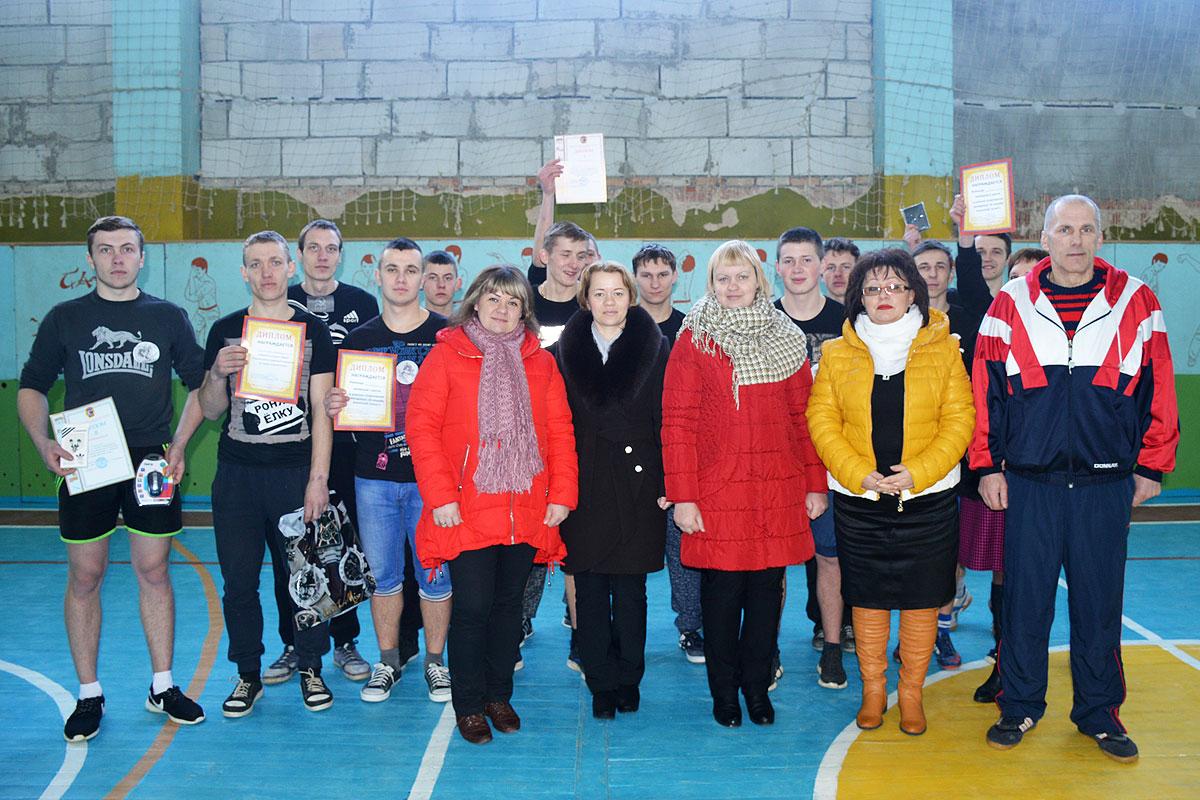 В лицее в Коханово соревновались будущие защитники Отечества (+фото)