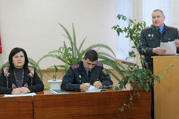 На территории Славновского сельсовета в минувшем году количество преступлений уменьшилось