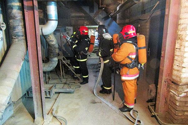 Тяжело в учении — легко в бою: толочинские спасатели отработали свои действия при чрезвычайной ситуации