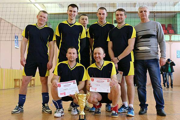 Волейболисты лесхоза — чемпионы Толочинского района