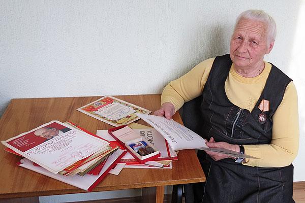 Думы о былом доярки-пятитысячницы Галины Голубевой