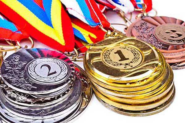 Пять золотых и три серебряных награды завоевали толочинские борцы на областных Олимпийских днях молодежи