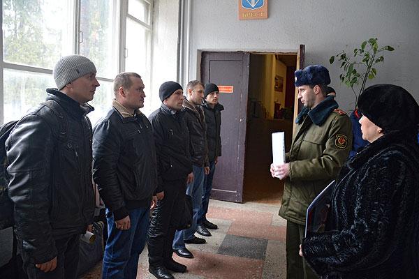 Военнообязанные запаса из Толочинского района на сборах показали себя достойно