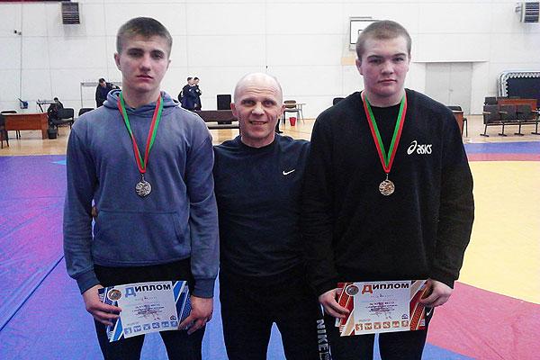 Толочинские борцы завоевали две награды на Олимпийских днях молодежи Республики Беларусь