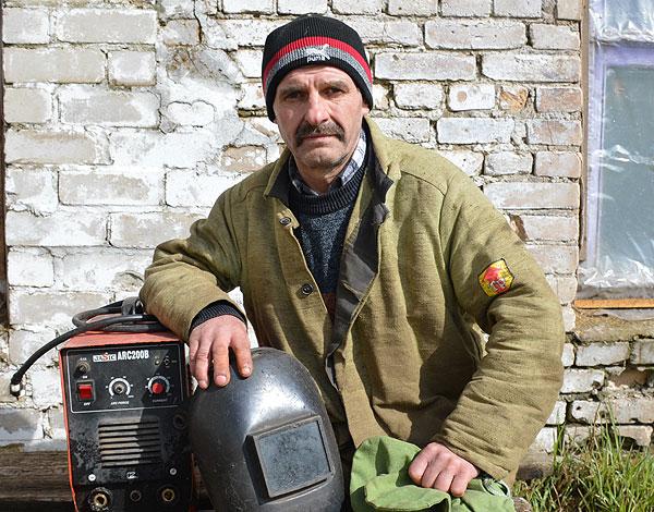 Электрагазазваршчык Коханаўскага льнозавода Сяргей Чаканаў знайшоў сваё прызванне
