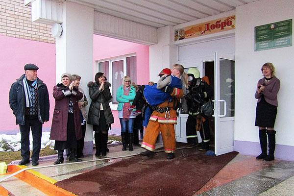 В учреждениях образования Толочинского района отработали планы эвакуации