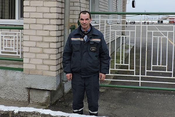 Партрэт з Дошкі гонару: Сяргей Мальцаў любімай працы ахвяруе сябе без шкадавання