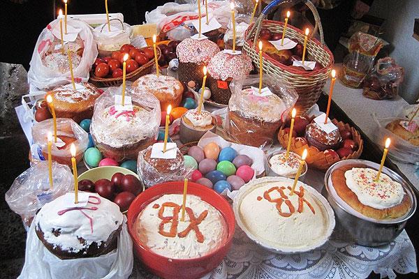 Расписание освящения пасхальных куличей, яиц в Толочинском районе