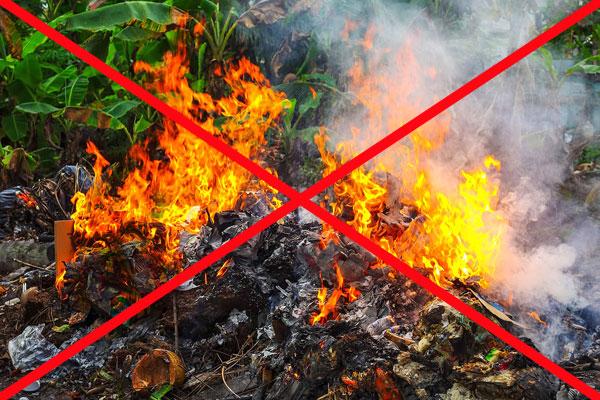 Не допустите возгорания во время посещения кладбищ