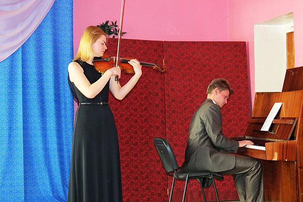 На толочинской сцене прозвучала музыка польских композиторов