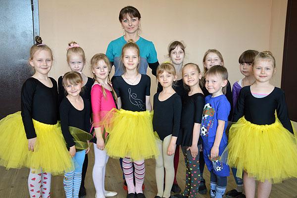 Наталья Романкевич любит танец и учит этому искусству других