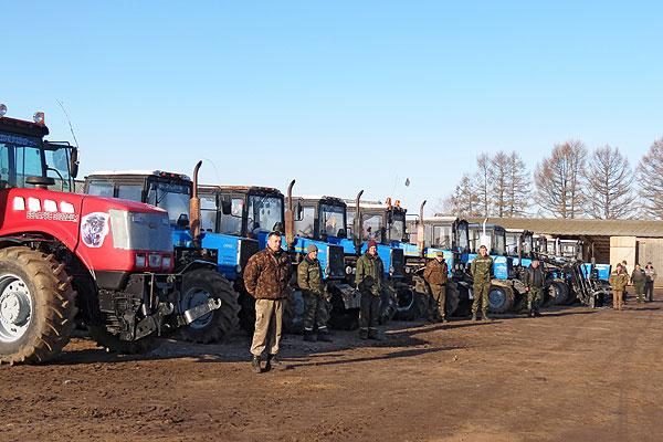 Поля ждать не будут: в Толочинском районе завершена проверки готовности сельхозтехники к посевной