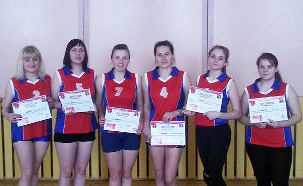Круглянские волейболистки выиграли открытое первенство Толочинского района