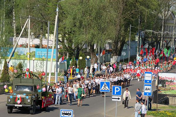 От шествия до фейерверка: программа мероприятий 9 мая в Толочине