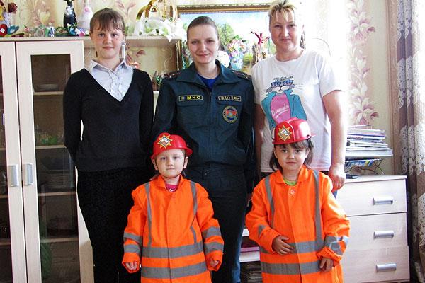 Толочинские спасатели рассказали о безопасности для всей семьи