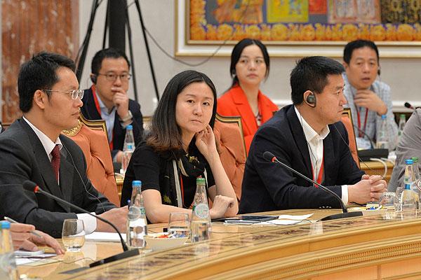 Тема недели: встреча Президента Беларуси с представителями китайских СМИ