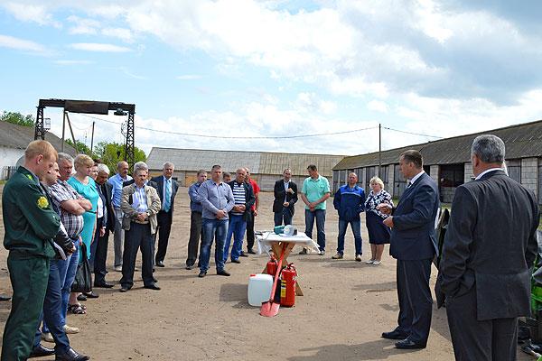 В Толочине обсудили готовность сельхозпредприятий района к заготовке кормов