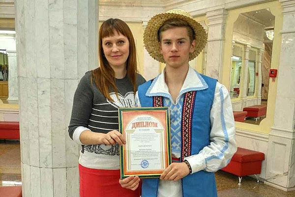 Лепшым чытальнікам сярод навучэнцаў прафтэхустаноў Віцебскай вобласці прызнаны юнак з Коханава