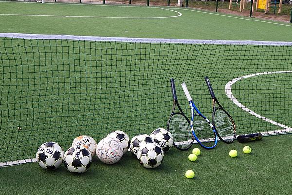 Многофункциональная площадка в Толочине ждет любителей спорта