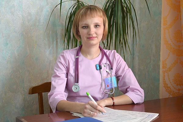 Толочинский врач Ольга Будко лечит словом, улыбкой и взглядом