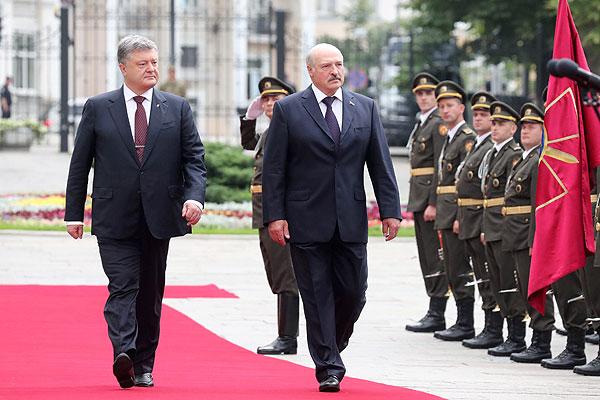 Тема недели: визит Президента Беларуси в Украину