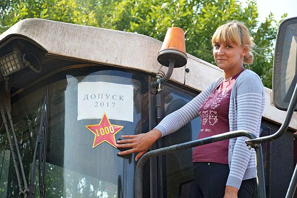 Зажжена первая звездочка в честь лучших комбайнеров Толочинского района (+фото)