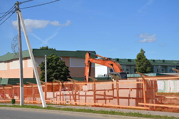 Строит частный инвестор: в Толочине появится новый торговый центр