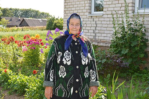 Марыя Савініч з аграгарадка Звянячы верная правілу — жыць з аптымізмам
