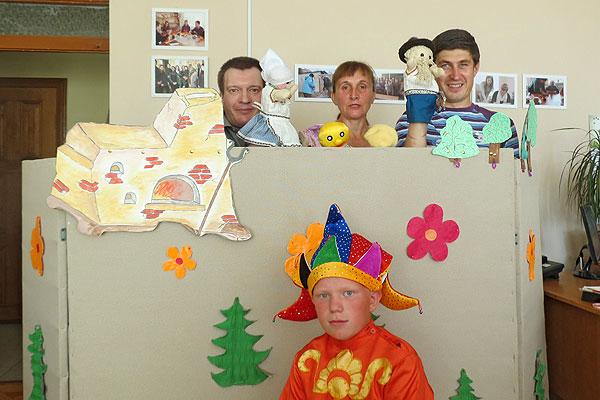 В Толочине состоялся дебют кукольного кружка