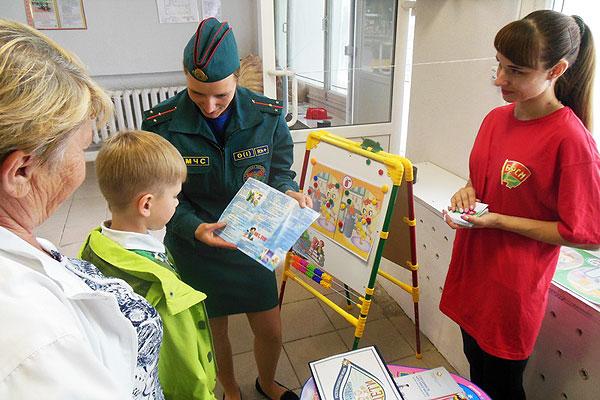 В Толочине стартовала профилактическая акция «В центре внимания — дети!»