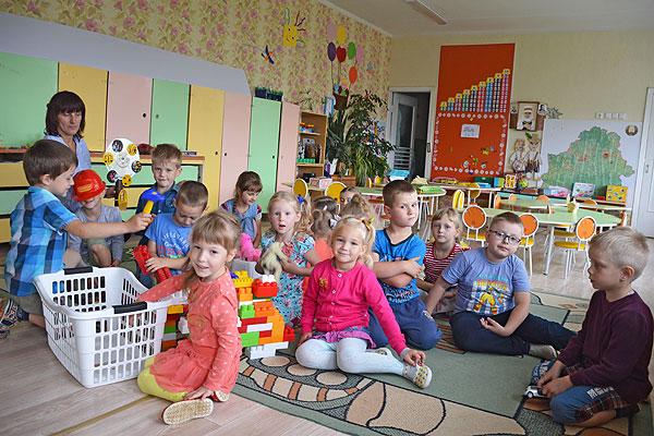 Детский сад №2 в Толочине с годами становится еще более солнечным