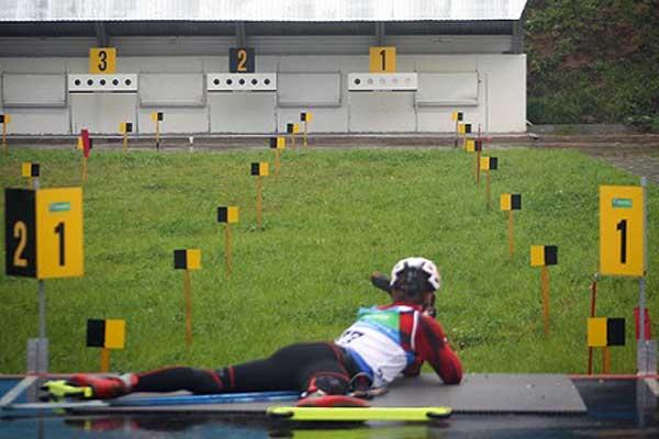 Юные толочинские биатлонисты в числе призеров областного первенства