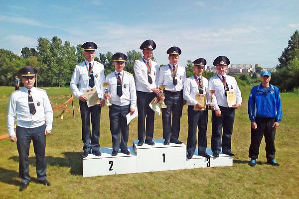 Толочинские охранники заняли второе место на областных соревнованиях