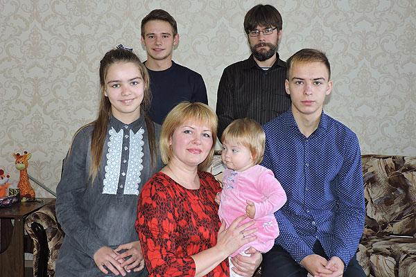 Секреты счастья семьи Алексеевых из Толочина