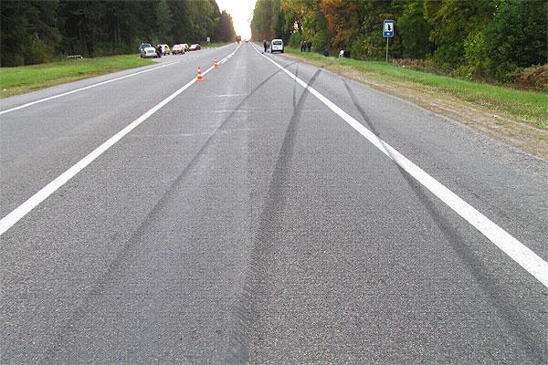 В Толочинском районе в результате дорожно-транспортного происшествия погиб пешеход