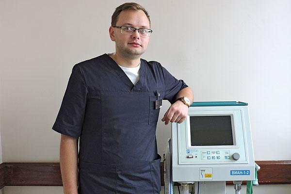Рабочее место толочинского анестезиолога — вся больница