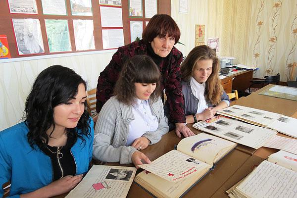 Музей в Славенской средней школе хранит историческую память поколений