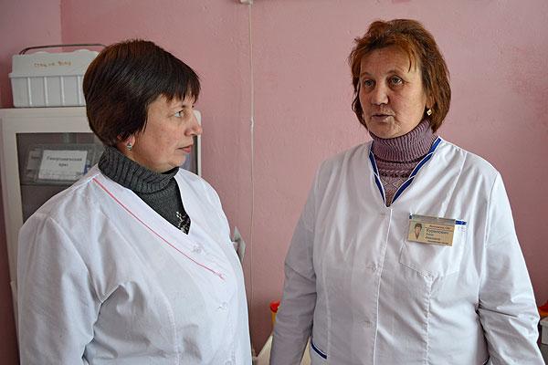 Свой прафесійны абавязак валосаўскія медсёстры дапаўняюць актыўнай дэпутацкай дзейнасцю
